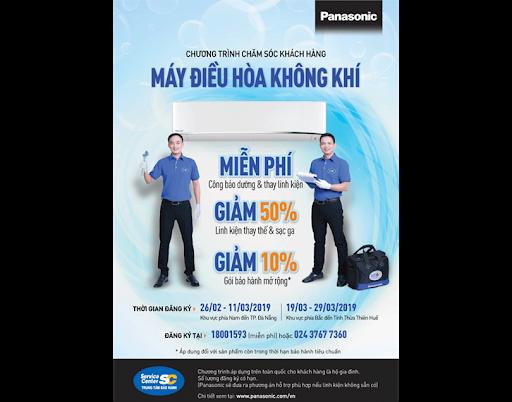 """Chương trình chăm sóc khách hàng Panasonic 2020 dành cho sản phẩm Điều hòa không khí """"Chào hè khỏe mạnh"""""""